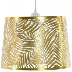 Lampe Plafonnier - Feuilles Brillant Doré, H. 25 cm