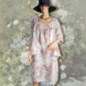 Ensemble d'intérieur - Renoir : Fleurs blanches, TU
