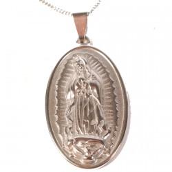 Pendentif - Médaille : Sainte Vierge, H. 4 cm