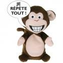 """Peluche interactive - Singe : """"Je Répète Tout"""""""