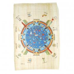 Papyrus Zodiaque de Dendérah - PAS DE STOCK DISPO