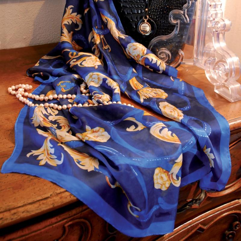 7f07378f99c7 Grand Foulard En Soie Elegant All Echarpe Foulard Femme