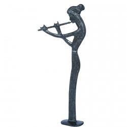 Statuette de bronze Femme Flà»tiste