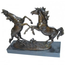 Ruade 2 chevaux - Bronze
