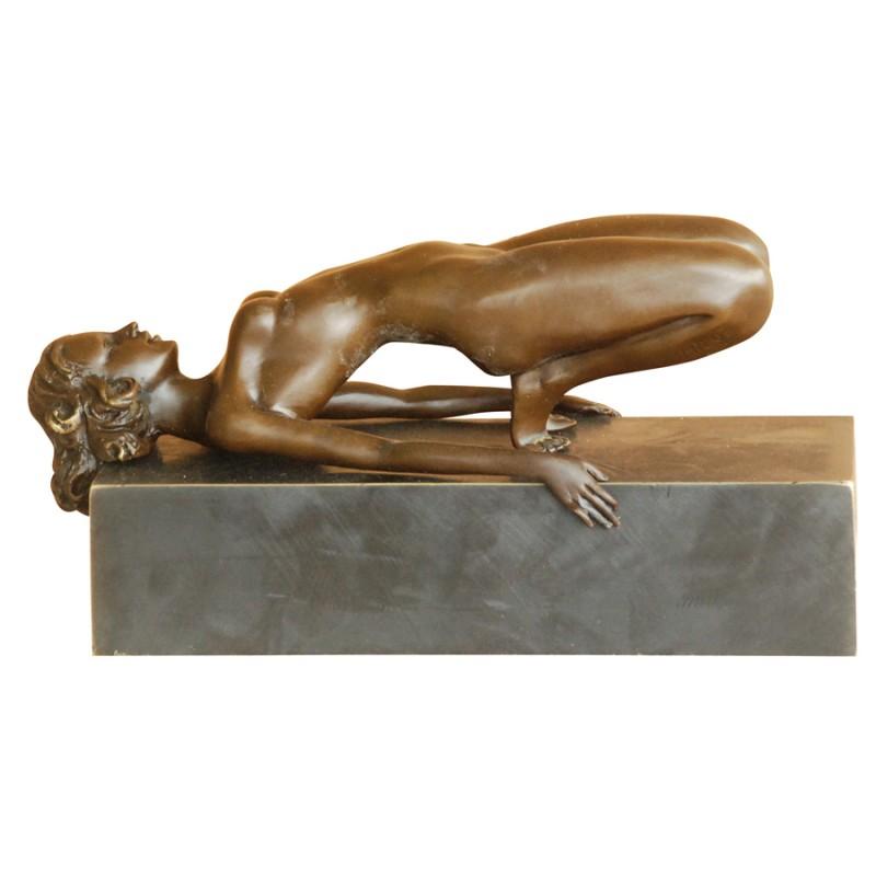 sculpture bronze gymnaste h 24 cm sculpture bronze. Black Bedroom Furniture Sets. Home Design Ideas