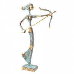 Sculpture d'Artémis - Bronze