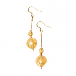Boucles d'Oreilles Perles de Murano