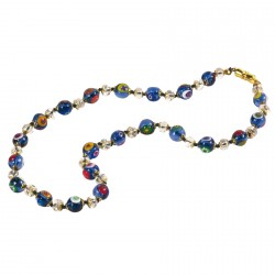 Collier murrines de Murano