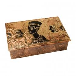 Coffret cuir Néfertiti