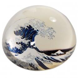 Presse-papier - Hokusaï, Ø 8 cm