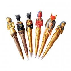 Stylo-Bille - Egypte, L. 15 cm (le lot)