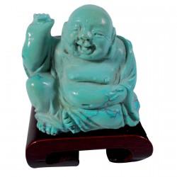 Sculpture - Bouddha Turquoise, H. 4,5 cm