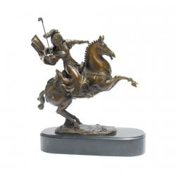 Joueuse De Polo - Bronze