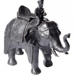 Elephant Avec Cornac