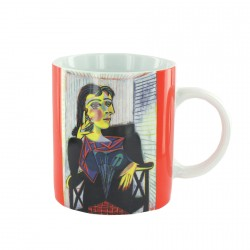 Mug procelaine - Picasso : Dora, H. 9 cm