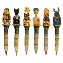 Stylo-bille - Egypte, H. 13 cm
