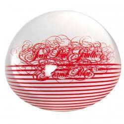 Presse-papier - Jean-Paul Gaultier rouge, Ø 8 cm