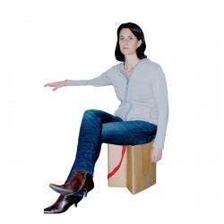 Tabouret - Le Sac à Siège, H. 35 cm, Ø 30 cm