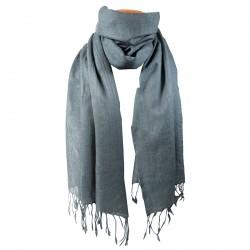 Echarpe laine - Watson Homme gris foncé, L. 200 cm