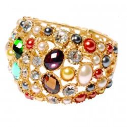 Bracelet - Klimt : Mosaïque noir