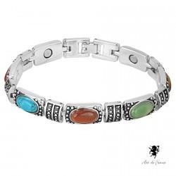 Bracelet magnétique - Hilda multicolore