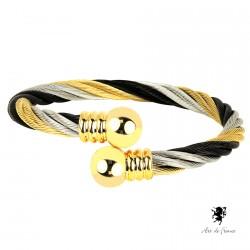 Bracelet magnétique - Réjane multicolore
