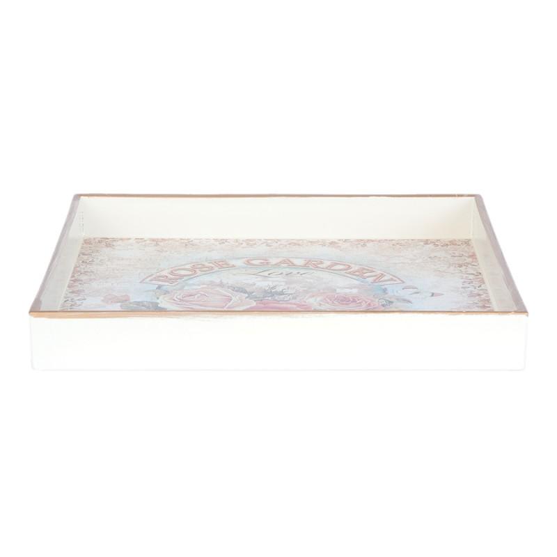 Plateau - Romantique, L. 20 cm - Art Royaume Uni