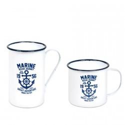 Mug - Marine (set de 2)