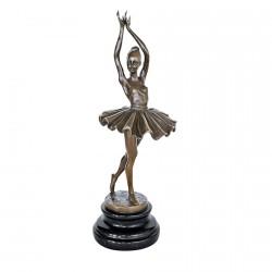 Sculpture bronze - La Petite Danseuse… XIXème, H. 32 cm