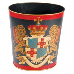 Corbeille Papiers - British Empire, H. 30 cm