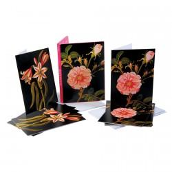 Cartes postales - Mary Delany : Fleurs, L. 15 cm