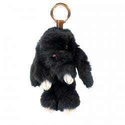Porte clé - Lapinou noir