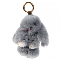 Porte clé - Lapinou gris