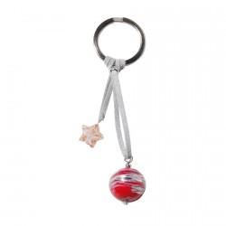 Porte clé - Flamme, H. 11 cm