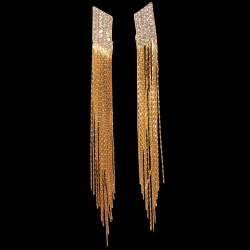 Boucles d'oreilles Pendant -  Aztèque