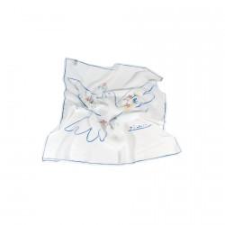 Foulard soie - Picasso : La Colombe blanche, L. 65 cm