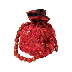 Pochette de Soirée - rouge, H. 20
