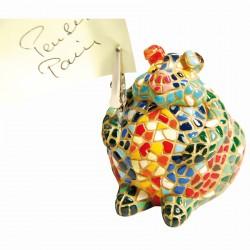 Pense-Bête - Gaudi : Cochon Mosaïque, H. 12 cm