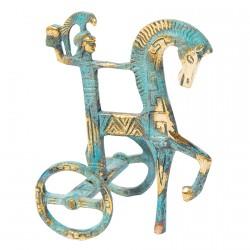 Sculpture - Char Athéna, H. 11 cm