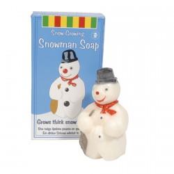 Savon - Bonhomme de neige, H. 8 cm