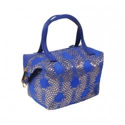 Sac - Klimt bleu, H. 26 cm