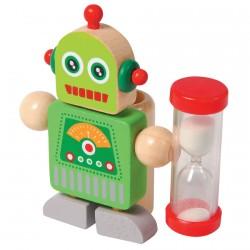 Sablier - Robot minuteur, H. 8,5 cm