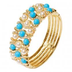 Bracelet - Perles Turquoise