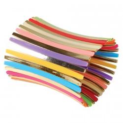 Bracelet Manchette - Bras Multicolore, L. 9 cm