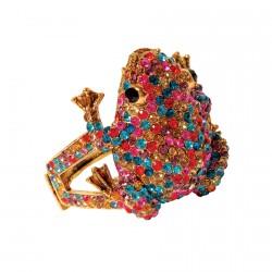 Bracelet - Grenouille multicolore