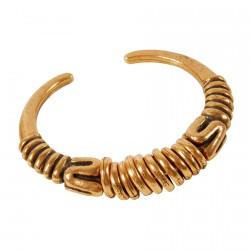 Bracelet ajustable - Eve doré, Ø 7 cm