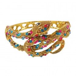 Bracelet - Shiva multicolore, Ø 6 cm