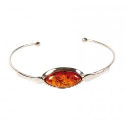 Bracelet argent - Jonc Alexandra