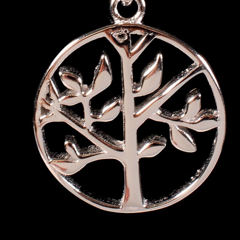 collier arbre de vie argent l 40 cm art et histoire arts antiques art celte. Black Bedroom Furniture Sets. Home Design Ideas