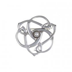 Broche celtique - Triskel la Perle